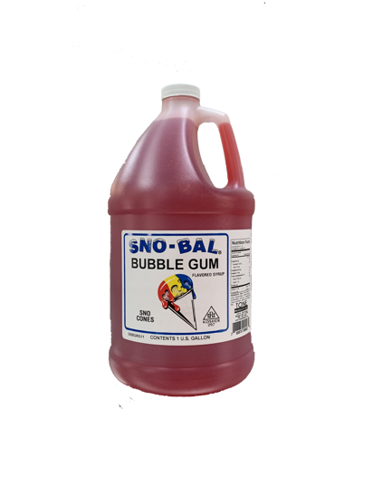 Picture of Tone Products Snocone Syrup Concentrate - Bubble Gum