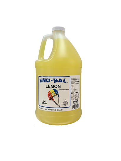 Picture of Tone Products Snocone Syrup Concentrate - Lemon