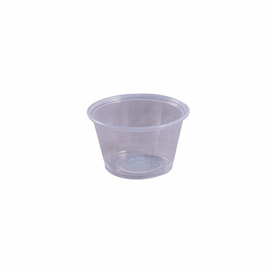 Picture of EPC400 Empress Plastic Portion Cup 4oz Clear 50 / 50 cs